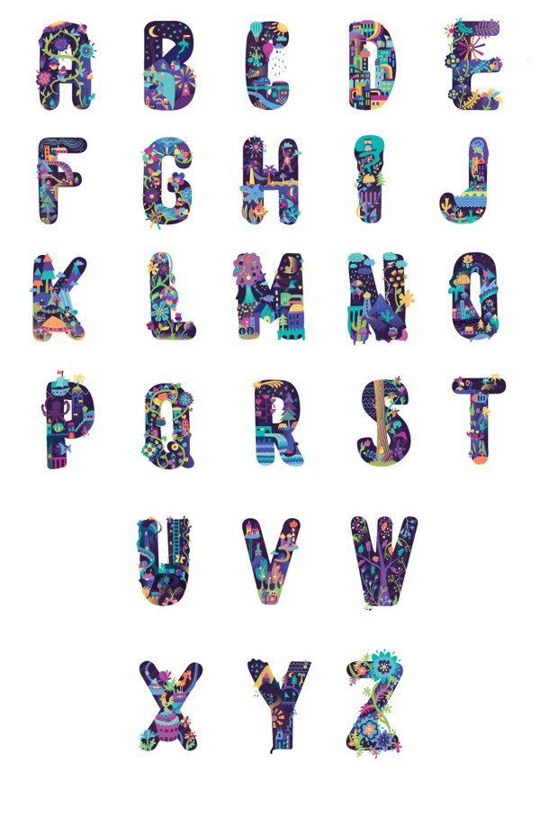 Wonderland Type feitp Petra Blahova #Type