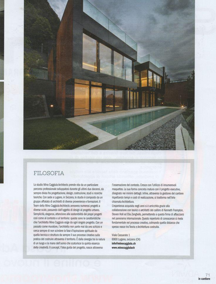 Mino Caggiula Architects on Showroom.
