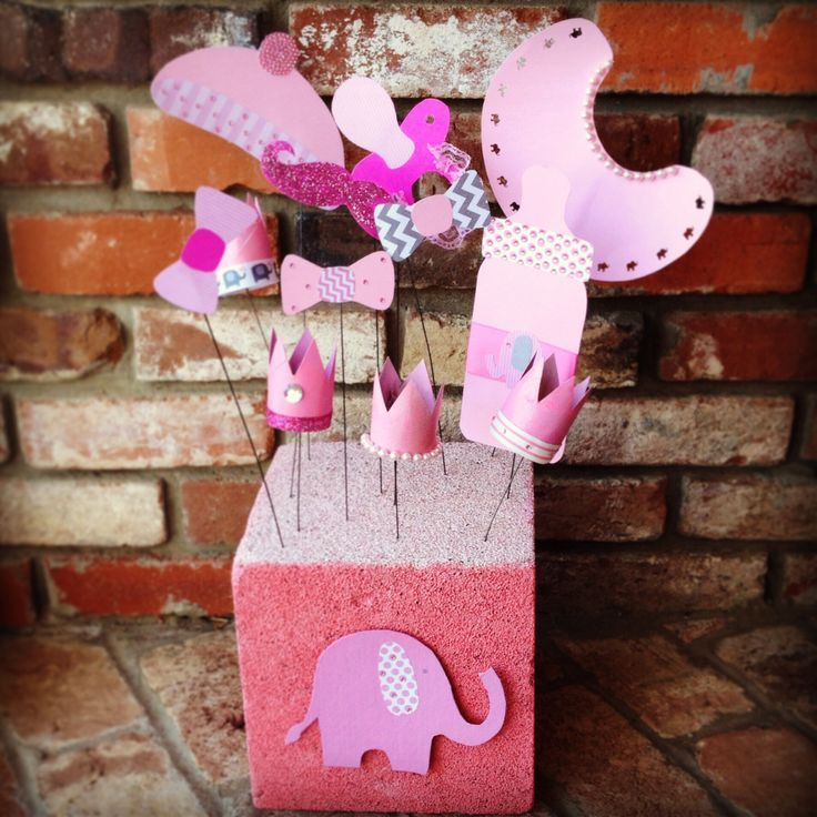 Elephant Themed Baby Shower: 122 Best Pink Elephant Baby Shower Theme Images On
