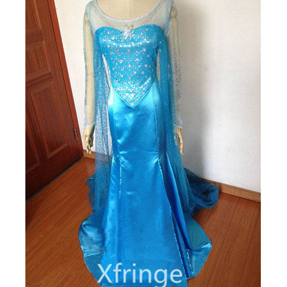 Hey, I found this really awesome Etsy listing at https://www.etsy.com/listing/187809918/elsa-dress-elsa-costume-elsa-frozen