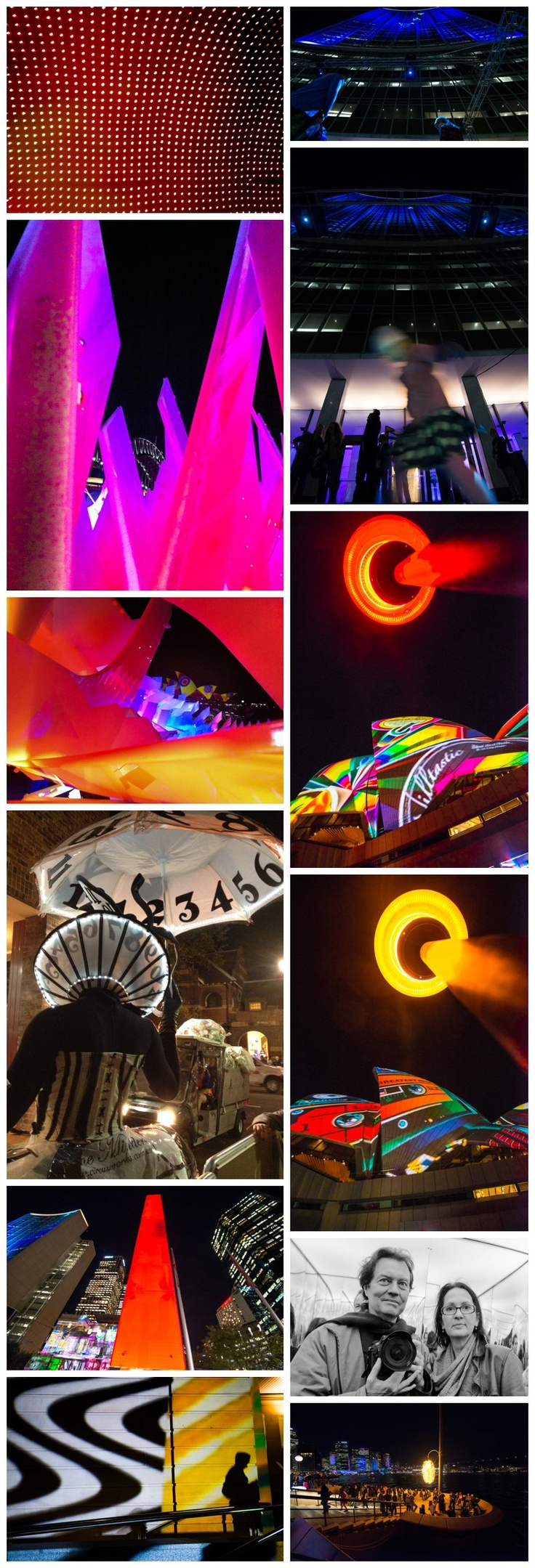 Vivid Sydney 2013 - what a fantastic way to celebrate the beauty of Sydney but by lights at night?