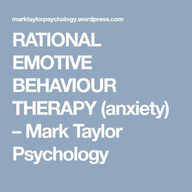 rational emotive behavior therapy book pdf