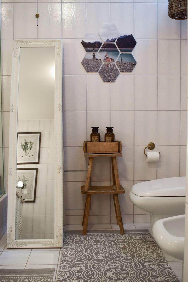 Diy Verschonerung Wandfliesen Im Bad Einfach Und Schnell Wandgestaltung Mit Hexxas Von Cewe Einfach Bild Aus Wandfliesen Badezimmer Design Tolle Badezimmer