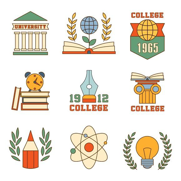 Education and University Collection by TopVectors on @creativemarket