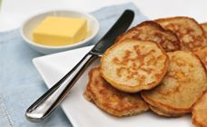 Corn Pikelets Recipe - Lunch box