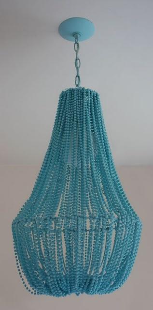 #beaded #chandelier. #DIY