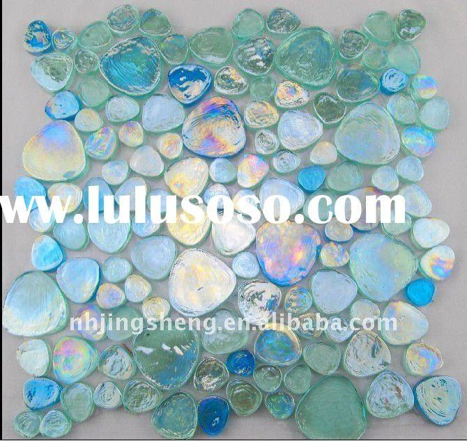 Beautiful glass mosaic tile.