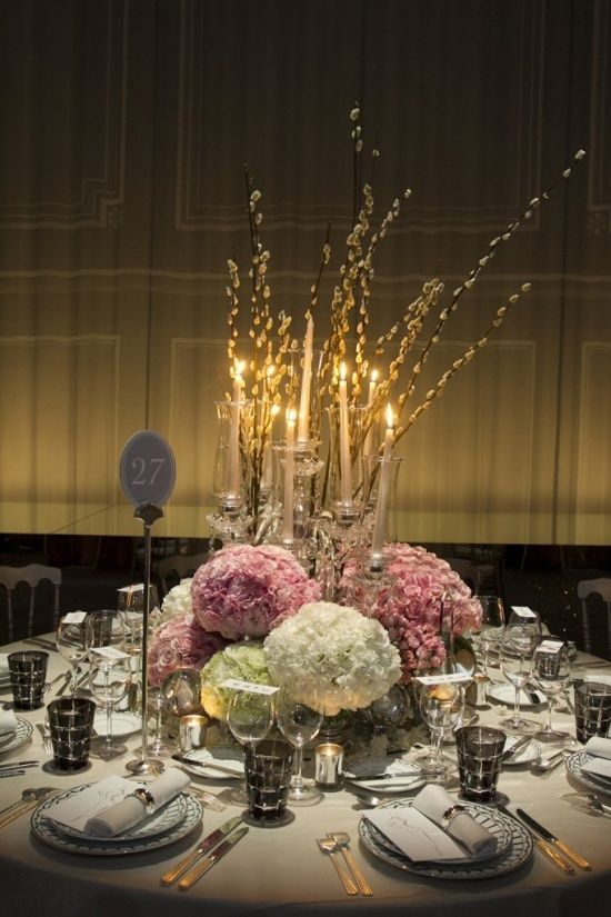 17 best images about centerpieces on pinterest for Winter wedding reception ideas