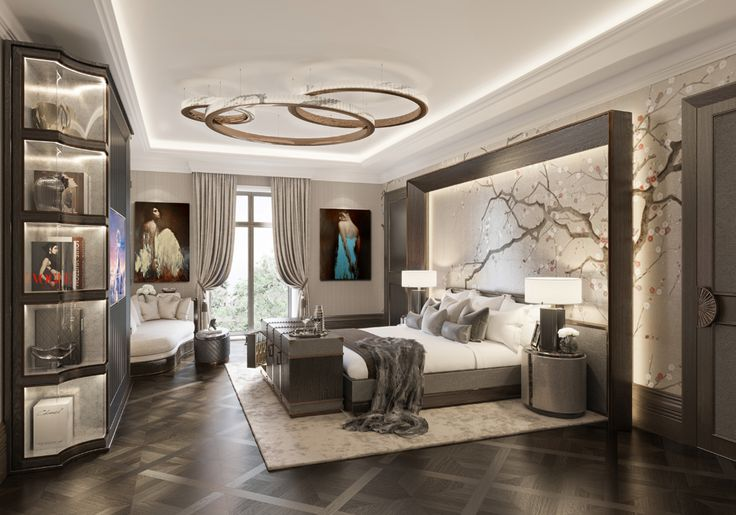 5* Hotel Residences Astana Classical Master Bedroom