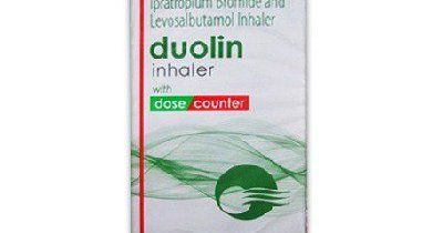 Duolin Inhaler (Ipratropium Bromide, Levosalbutamol Inhaler)