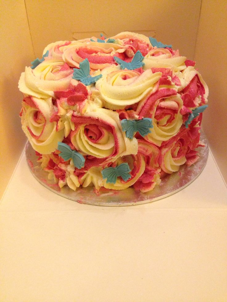 Buttercream cake by Angell cakes