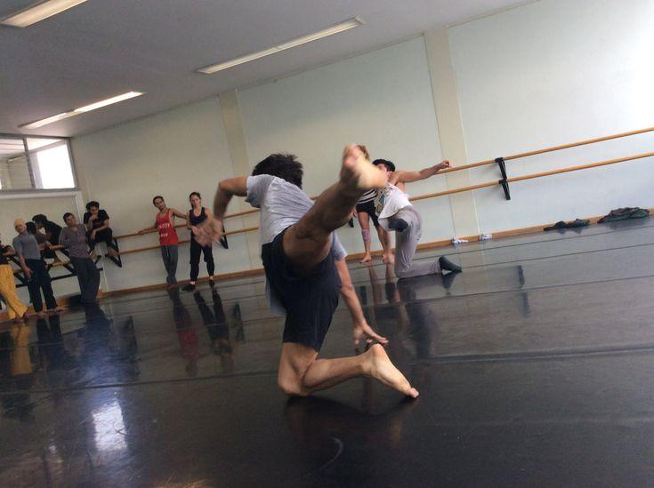 Contemporary Dance Class Part 2 by Yeri Anarika