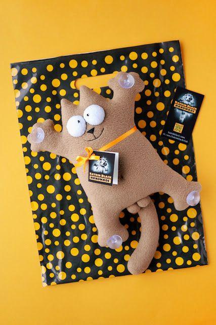 #SimonsCat #Handmade Можно заказать! Пишите на marenkova1911@gmail.com Упаковка моих игрушек.