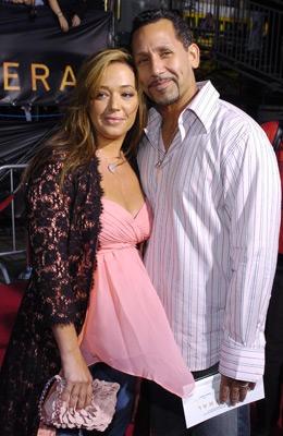 Leah Remini & husband Angelo