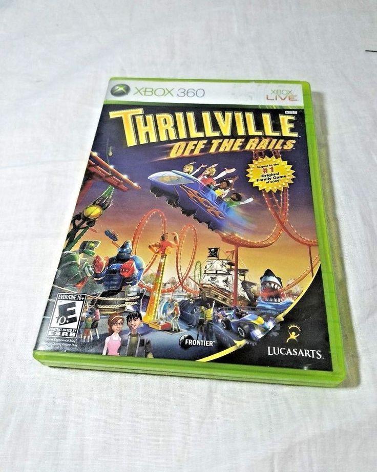 Thrillville: Off the Rails (Microsoft Xbox 360, 2007) - European Version #lucasarts