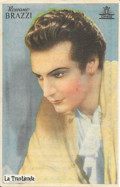 Retrato antiguo de Rossano Brazzi