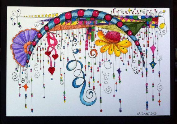 Tangled Ink Art: Zenspirations