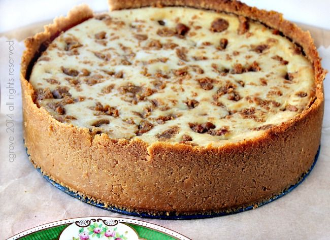 Decadent Baked Fudge Cheesecake with Salted Caramel Topping