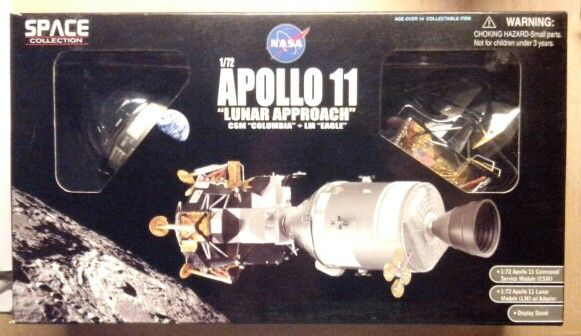 1/72 Apollo XI, LM and CM by Dragon.