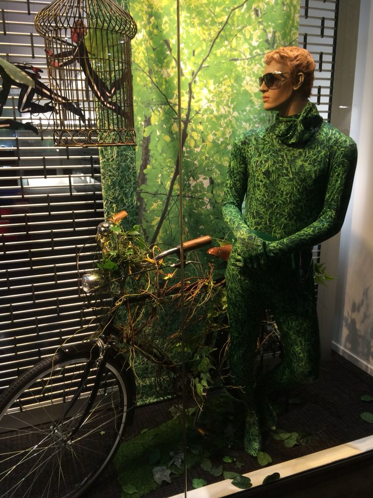"GATES OPTOMETRIST, Newmarket, Auckland, New Zealand, "" As Green As Grass "", created by Ton van der Veer"