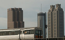 Metropolitan Atlanta Rapid Transit Authority (MARTA) - one way to get around the city