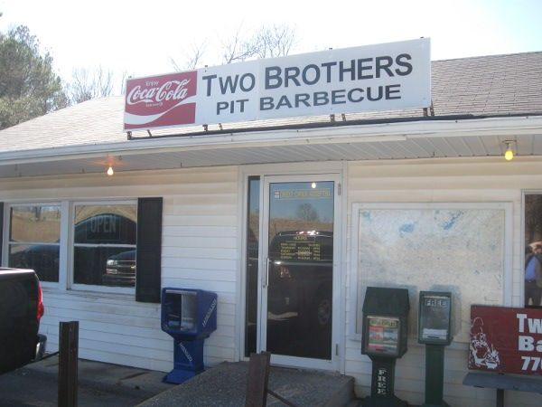 Two Brothers Barbecue Ball Ground Ga Marie Let S Eat In Georgia Pinterest Bbq And