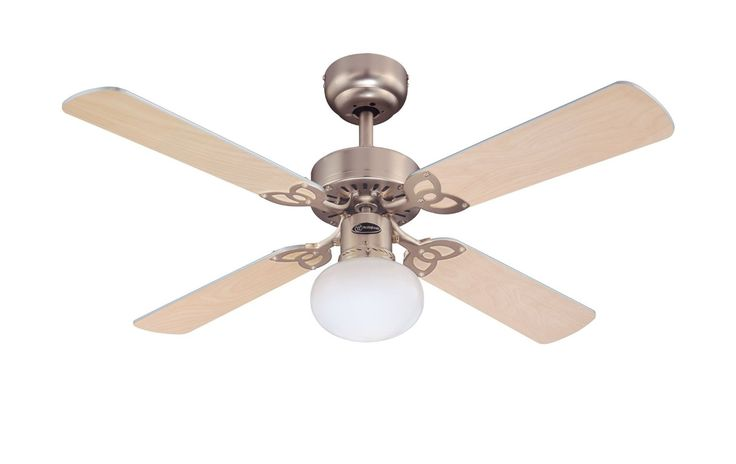 Westinghouse Vegas Aluminium Light maple Ceiling Fan - 72272: Amazon.in: Home & Kitchen