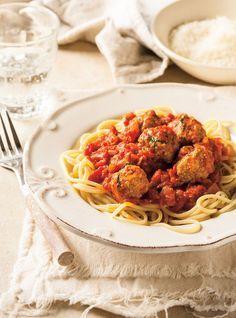 Sauce tomate aux boulettes Recettes | Ricardo