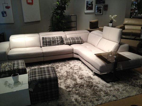 Best 25+ White Leather Sectionals ideas on Pinterest ...