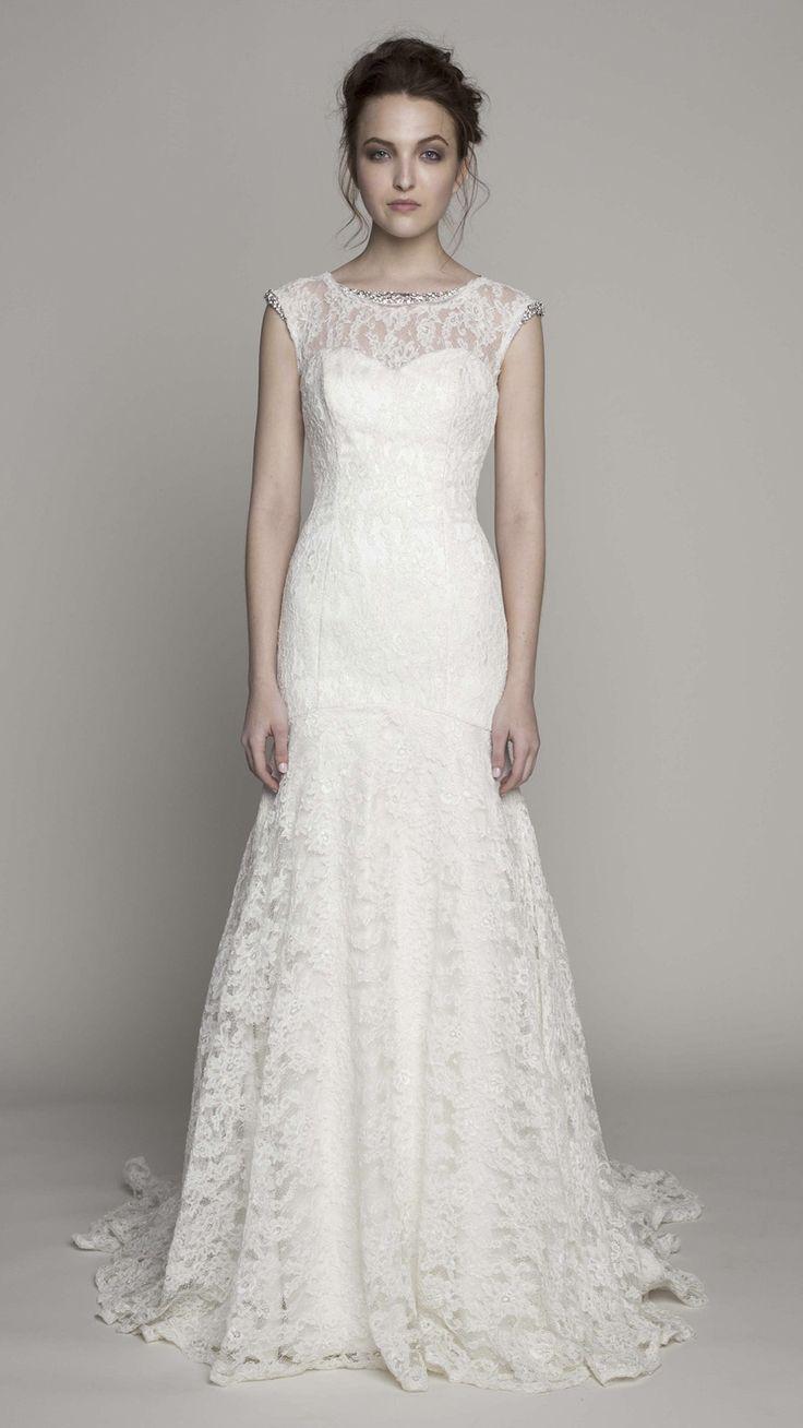 Modest wedding dresses under 200   best big day  images on Pinterest  Wedding ideas Gown