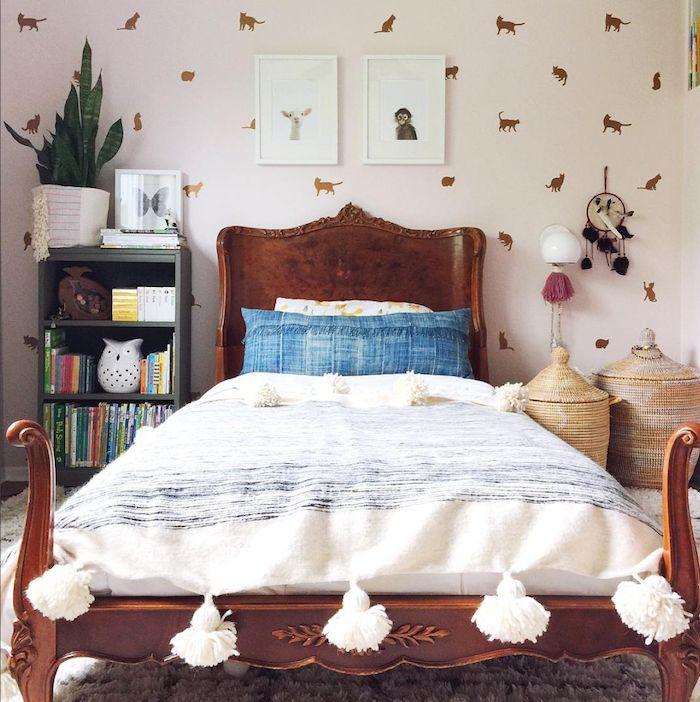 my scandinavian home: Children's bedroom in the cosy modern bohemian home of Megan Schlachtenhaufen