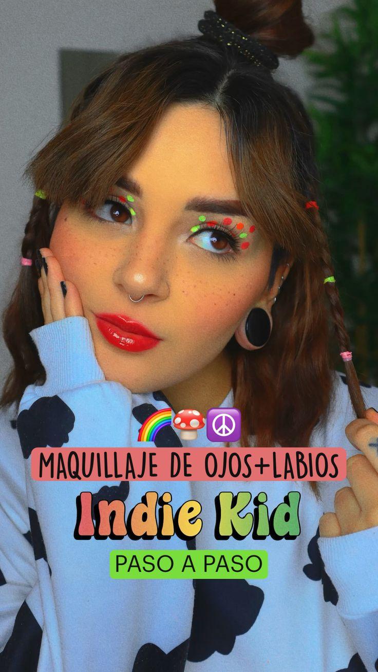 Retro Makeup, Eye Makeup, Indie Fashion, Retro Fashion, Too Faced Shadow Insurance, Indie Kids, Creative Makeup, Shiva, Nail Design