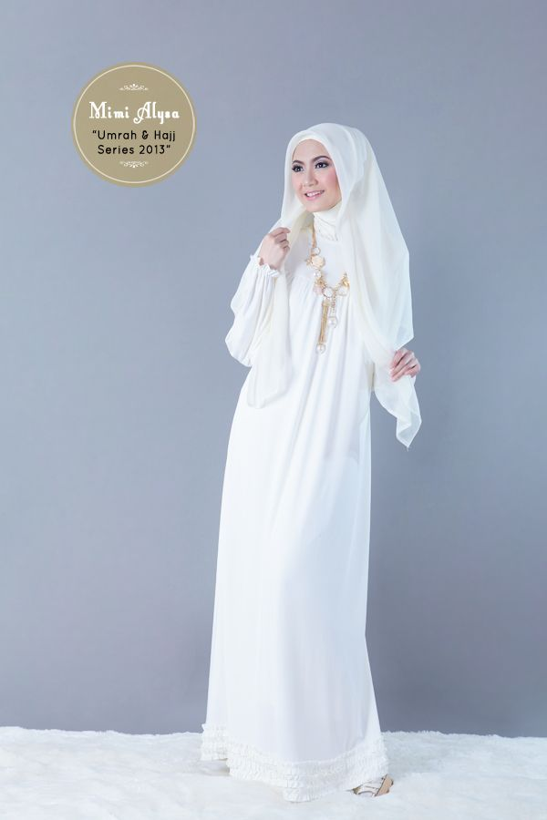 "#Mimi Alysa - ""Rasyiqa Dress"" - Umrah and Hajj Series 2013"