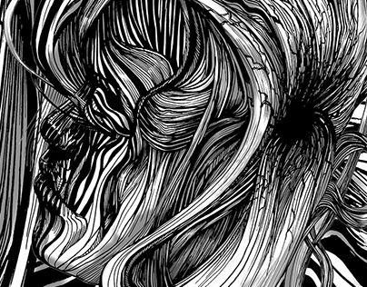 """Check out new work on my @Behance portfolio: """"Duality"""" http://on.be.net/1NW61FE"""