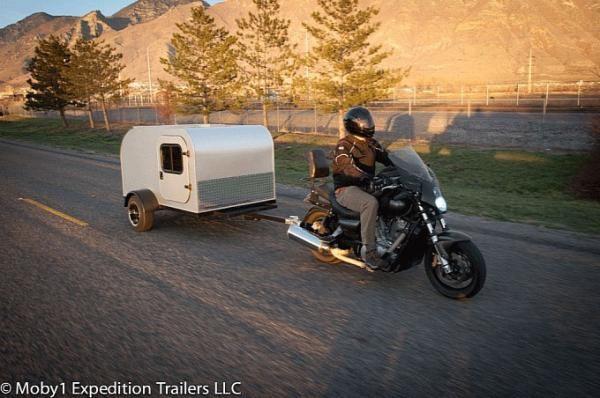 Unik, Motor Ini Membawa Kamar Saat Touring - Vivaoto.com - Majalah Otomotif Online