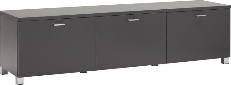 Seattle AV møbel, mattlakkert grått. Finnes i flere farger. Dimensjoner: L160 x H43 x D40 cm. Kr. 5065,-