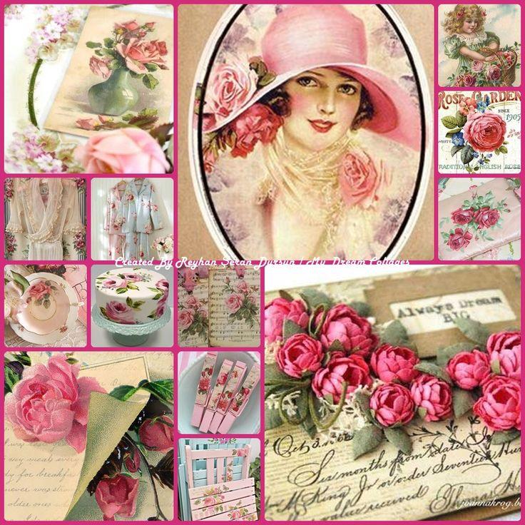 '' Vintage Roses '' by Reyhan Seran Dursun