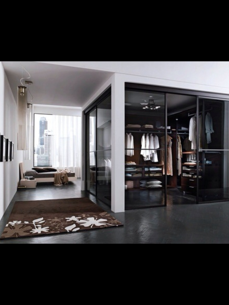 Modern Loft Gents Closet, So Handsome.