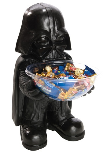 Darth Vader Halloween Candy Bowl Holder