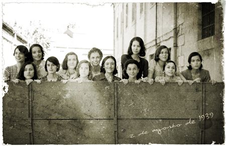 Las Trece Rosas (The Thirteen Roses), a group of very young women who were executed by a Francoist firing squad just after the conclusion of the Spanish Civil War.