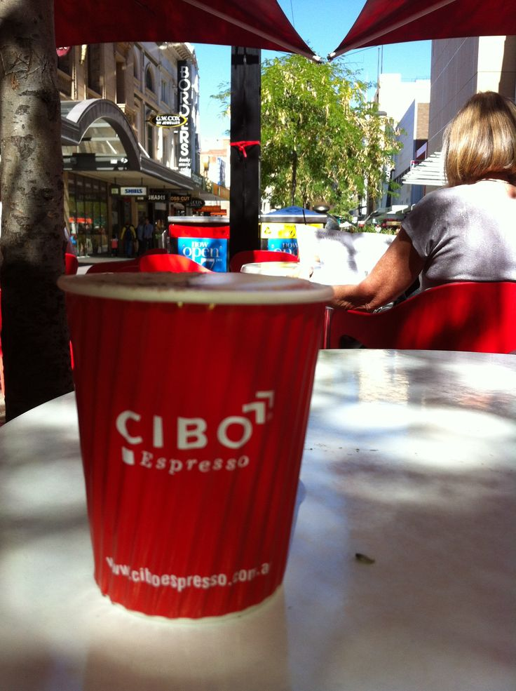 Cibo in Rundle Mall before the renovations started...