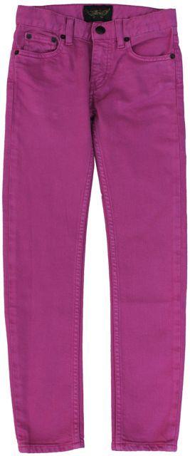 Finger in the Nose - roze jeans icon - Jeans van het model icon in een hippe, roze kleur die ook juniors erg cool vinden. Dit model is erg slim fit en zit heel strak om het been. Enkel voor fijne meisjes. Verstelbare elastiek tot en met maat 12/13 jaar. 98% katoen/2% elastan.