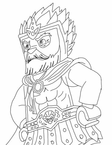 Lego chima coloring pages cragger - Clamart