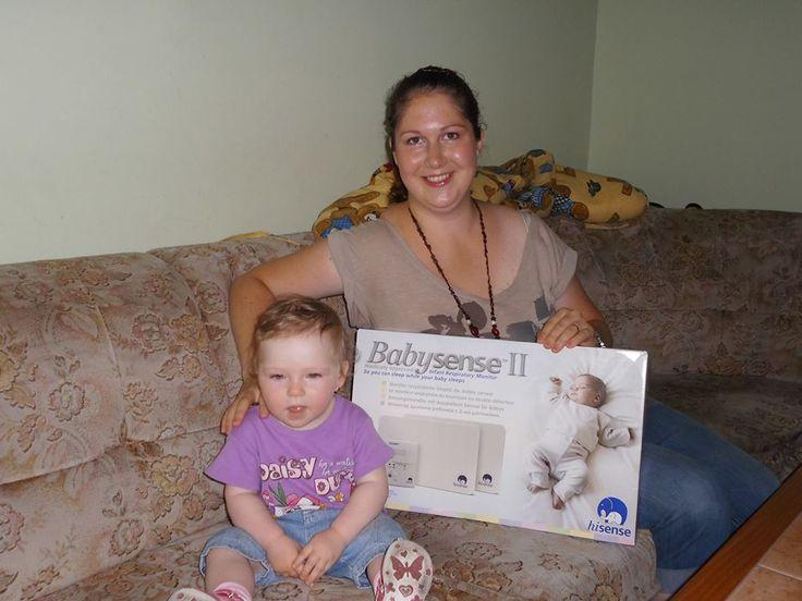 Sme radi že sme potešili Mirku :) našu fanúšičku  btw vyhrala Babysense II
