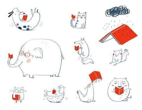 All read! And you? / Todos leen! Y tú? (ilustración de Ina...