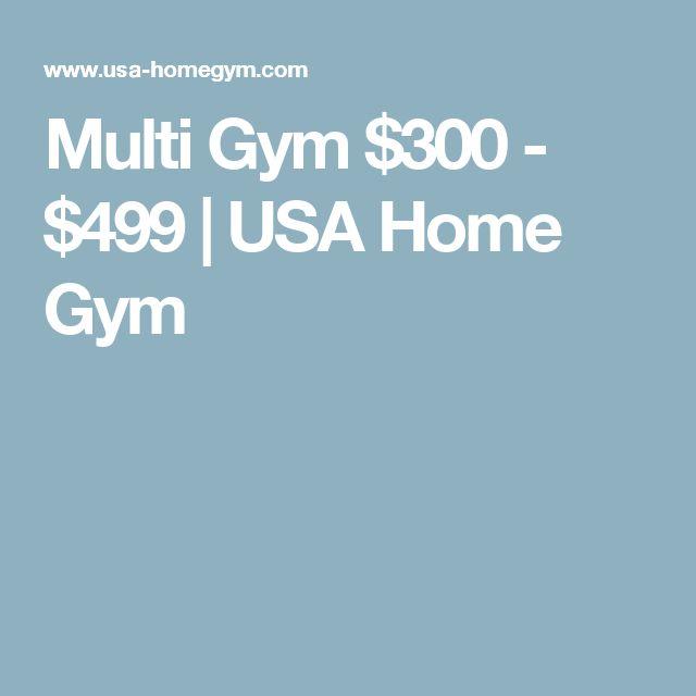 Multi Gym $300 - $499 | USA Home Gym