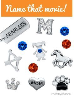 Origami Owl Name That Movie! game. Answer: Brave. Follow CINDY CAZARES on FB! https://www.facebook.com/hellociindycharms