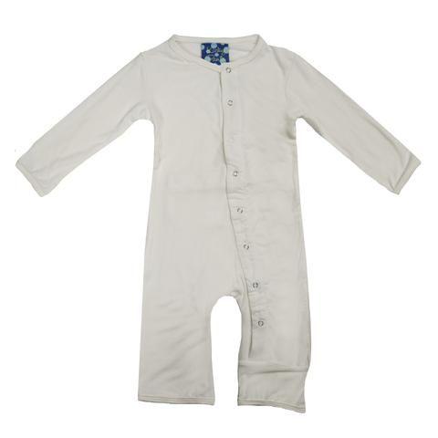 KicKee Pants Basic Coverall (Natural)