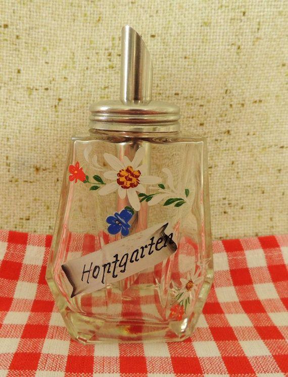 Vintage Sugar Dispenser Austria Tirol Tyrol Home Country