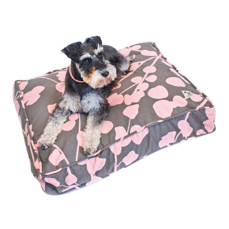 Dusty Grey and Pink Molly Mutt Dog Duvet $54.95